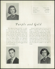 Page 10, 1950 Edition, Waite High School - Warrior Yearbook (Toledo, OH) online yearbook collection