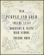 Page 5, 1950 Edition, Waite High School - Warrior Yearbook (Toledo, OH) online yearbook collection