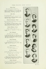 Page 17, 1921 Edition, Findlay High School - Trojan Yearbook (Findlay, OH) online yearbook collection