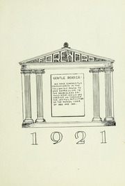 Page 9, 1921 Edition, Findlay High School - Trojan Yearbook (Findlay, OH) online yearbook collection