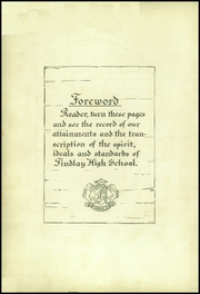 Page 6, 1925 Edition, Findlay High School - Trojan Yearbook (Findlay, OH) online yearbook collection