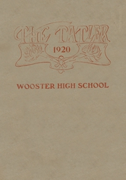 Page 1, 1920 Edition, Wooster High School - General Yearbook (Wooster, OH) online yearbook collection