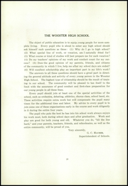 Page 16, 1920 Edition, Wooster High School - General Yearbook (Wooster, OH) online yearbook collection