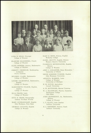 Page 17, 1920 Edition, Wooster High School - General Yearbook (Wooster, OH) online yearbook collection