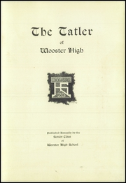 Page 7, 1920 Edition, Wooster High School - General Yearbook (Wooster, OH) online yearbook collection