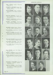 Page 12, 1937 Edition, Wooster High School - General Yearbook (Wooster, OH) online yearbook collection