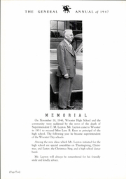 Page 14, 1947 Edition, Wooster High School - General Yearbook (Wooster, OH) online yearbook collection
