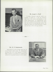 Page 13, 1951 Edition, Wooster High School - General Yearbook (Wooster, OH) online yearbook collection
