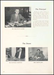 Page 14, 1959 Edition, Wooster High School - General Yearbook (Wooster, OH) online yearbook collection