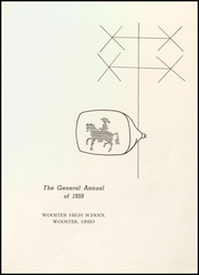 Page 5, 1959 Edition, Wooster High School - General Yearbook (Wooster, OH) online yearbook collection