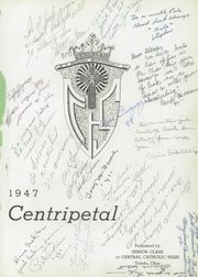Page 5, 1947 Edition, Central Catholic High School - Centripetal Yearbook (Toledo, OH) online yearbook collection