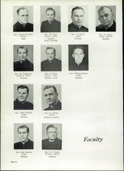 Page 14, 1952 Edition, Central Catholic High School - Centripetal Yearbook (Toledo, OH) online yearbook collection