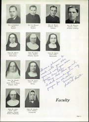 Page 15, 1952 Edition, Central Catholic High School - Centripetal Yearbook (Toledo, OH) online yearbook collection