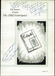 Page 5, 1952 Edition, Central Catholic High School - Centripetal Yearbook (Toledo, OH) online yearbook collection