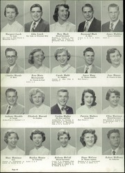 Page 44, 1954 Edition, Central Catholic High School - Centripetal Yearbook (Toledo, OH) online yearbook collection