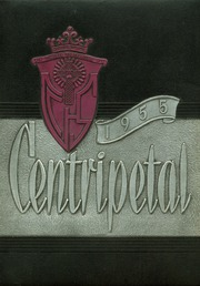 Central Catholic High School - Centripetal Yearbook (Toledo, OH) online yearbook collection, 1955 Edition, Page 1
