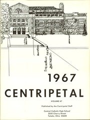 Page 5, 1967 Edition, Central Catholic High School - Centripetal Yearbook (Toledo, OH) online yearbook collection