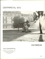 Page 5, 1972 Edition, Central Catholic High School - Centripetal Yearbook (Toledo, OH) online yearbook collection