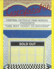 1986 Edition, Central Catholic High School - Centripetal Yearbook (Toledo, OH)