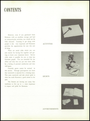 Page 11, 1958 Edition, Kenmore High School - Kenmore Eighty Yearbook (Akron, OH) online yearbook collection