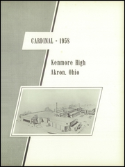 Page 5, 1958 Edition, Kenmore High School - Kenmore Eighty Yearbook (Akron, OH) online yearbook collection