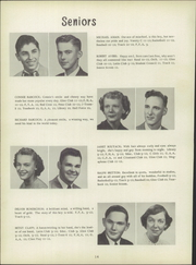 Page 18, 1951 Edition, Clyde High School - Courier Yearbook (Clyde, OH) online yearbook collection