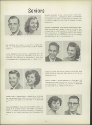 Page 20, 1951 Edition, Clyde High School - Courier Yearbook (Clyde, OH) online yearbook collection