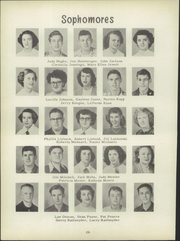 Page 30, 1951 Edition, Clyde High School - Courier Yearbook (Clyde, OH) online yearbook collection