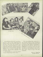 Page 78, 1951 Edition, Clyde High School - Courier Yearbook (Clyde, OH) online yearbook collection