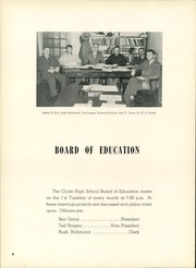 Page 10, 1952 Edition, Clyde High School - Courier Yearbook (Clyde, OH) online yearbook collection