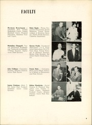 Page 13, 1952 Edition, Clyde High School - Courier Yearbook (Clyde, OH) online yearbook collection