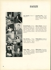 Page 14, 1952 Edition, Clyde High School - Courier Yearbook (Clyde, OH) online yearbook collection