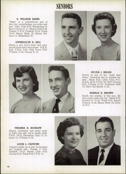 Page 16, 1956 Edition, Clyde High School - Courier Yearbook (Clyde, OH) online yearbook collection