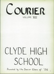 Page 5, 1956 Edition, Clyde High School - Courier Yearbook (Clyde, OH) online yearbook collection