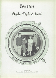 Page 5, 1957 Edition, Clyde High School - Courier Yearbook (Clyde, OH) online yearbook collection
