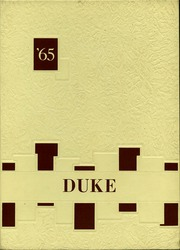 Page 1, 1965 Edition, Wellington High School - Duke Yearbook (Wellington, OH) online yearbook collection