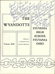 Page 7, 1968 Edition, Sylvania Northview High School - Wyandotte Yearbook (Sylvania, OH) online yearbook collection