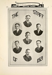 Page 17, 1921 Edition, Dover High School - Swirl Yearbook (Dover, OH) online yearbook collection