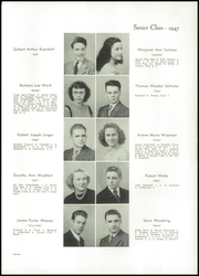 Page 15, 1947 Edition, Dover High School - Swirl Yearbook (Dover, OH) online yearbook collection