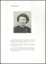 Page 9, 1947 Edition, Dover High School - Swirl Yearbook (Dover, OH) online yearbook collection