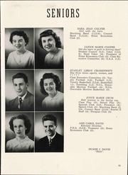 Page 17, 1949 Edition, Shelby High School - Scarlet S Yearbook (Shelby, OH) online yearbook collection
