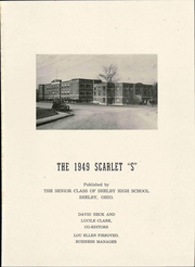Page 7, 1949 Edition, Shelby High School - Scarlet S Yearbook (Shelby, OH) online yearbook collection