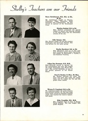 Page 13, 1954 Edition, Shelby High School - Scarlet S Yearbook (Shelby, OH) online yearbook collection