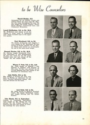 Page 15, 1954 Edition, Shelby High School - Scarlet S Yearbook (Shelby, OH) online yearbook collection