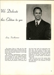 Page 9, 1954 Edition, Shelby High School - Scarlet S Yearbook (Shelby, OH) online yearbook collection