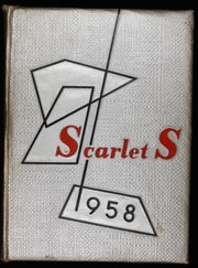 1958 Edition, Shelby High School - Scarlet S Yearbook (Shelby, OH)