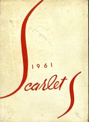 1961 Edition, Shelby High School - Scarlet S Yearbook (Shelby, OH)