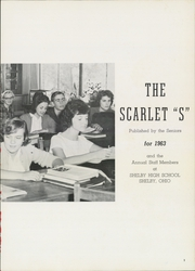 Page 5, 1963 Edition, Shelby High School - Scarlet S Yearbook (Shelby, OH) online yearbook collection
