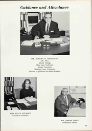 Page 17, 1966 Edition, Shelby High School - Scarlet S Yearbook (Shelby, OH) online yearbook collection