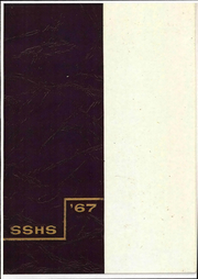 1967 Edition, Shelby High School - Scarlet S Yearbook (Shelby, OH)